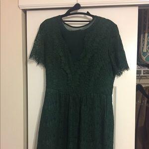 ❄️Knee Length ATHROPOLOGIE winter dress ❄️